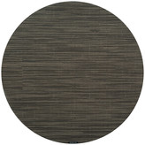 Chilewich Bamboo Round Placemat - Grey Flannel