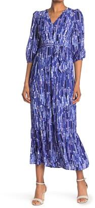 Donna Morgan V-Neck Maxi Dress