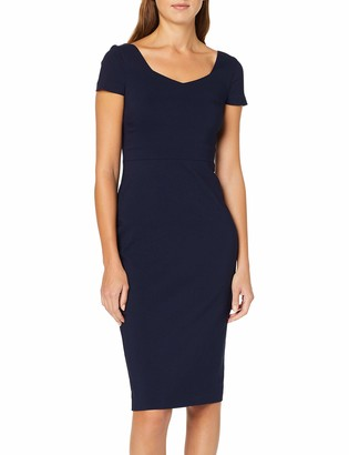 Dorothy Perkins Women's Cap Sleeve Sweetheart Neck Dress Party
