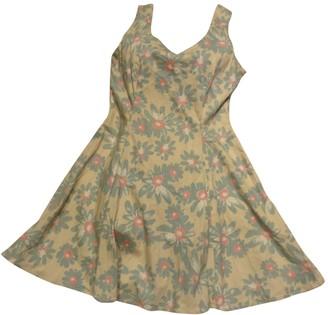 Jill Stuart Beige Cotton Dress for Women