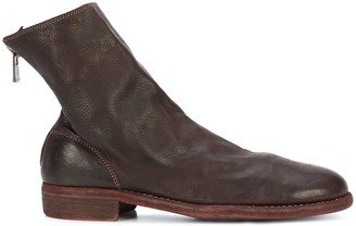 Guidi Worn In Ankle Boots