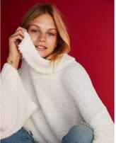 Express kimono sleeve cowl neck sweater