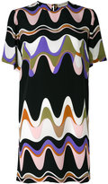 Emilio Pucci triangle print shift dress