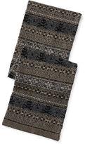 Ralph Lauren Fair Isle Cotton-Wool Scarf