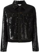 Ashish sequin embellished denim jacket - women - Cotton - M