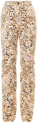Etro Floral Print Jeans