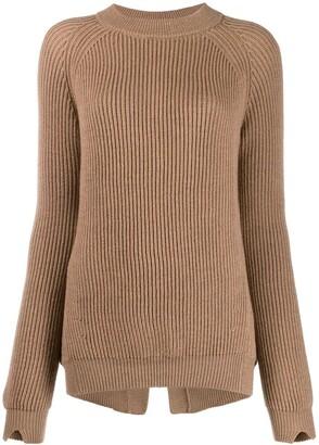 Stefano Mortari Ribbed Knit Sweater