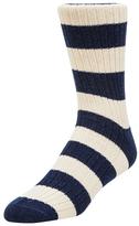 Etiquette Clothiers Preppy Stripes Ribbed Socks