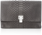 Proenza Schouler Matte Python Small Lunch Bag