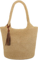 Straw Studios Solid Polystring Hobo Bag