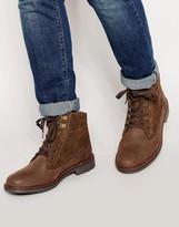 Firetrap Hiker Walking Boots - Brown