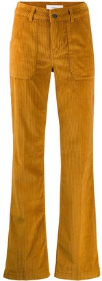 BA&SH High Waisted Corduroy Trousers