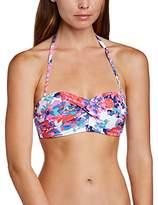 Moontide Women's Blossom Bandeau Bikini Top