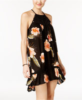 Volcom Juniors' Not Over It Printed Shift Dress