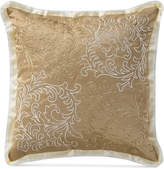 "Waterford Ansonia Ivory 16"" Square Decorative Pillow"