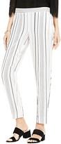 Vince Camuto Pencil Stripe Slim Ankle Pants