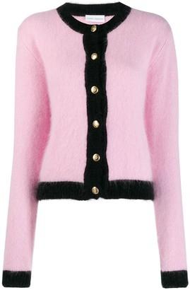 Chiara Ferragni Contrast Trim Knitted Cardigan