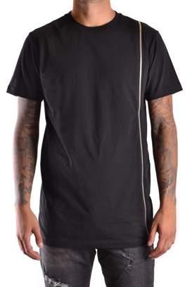 Les Hommes Women's Black Cotton T-shirt