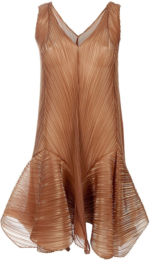 Issey Miyake Finely pleated dress