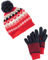 Osh Kosh Hat & Gloves Set