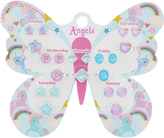 Accessorize Butterfly 7 Day Stick On Earrings & Rings