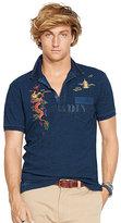 Polo Ralph Lauren Embroidered Indigo Polo Shirt