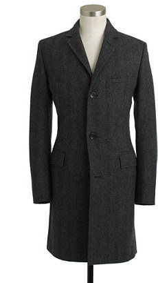 Ludlow topcoat in herringbone English wool with Thinsulate®