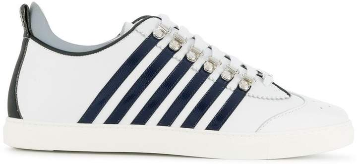 DSQUARED2 striped side sneaker