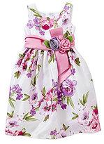 Jayne Copeland Little Girls 2T-6X Floral Dress