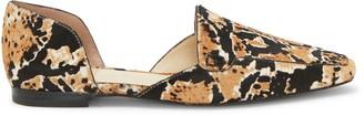 Vince Camuto Kordie3 Animal-Print DOrsay Flat