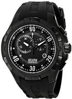 Elini Barokas Men's ELINI-10005-BB-01 Trespasser Stainless Steel Watch