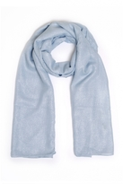 Quiz Blue Shimmer Dot Scarf