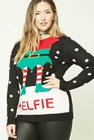 Forever 21 Plus Size Elfie Sweater