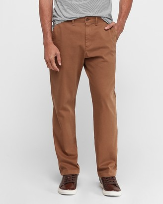 Express Relaxed Garment Dyed Stretch Chino