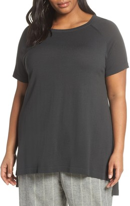 Eileen Fisher Tunic Sweater (Plus Size)