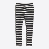 J.Crew Factory Girls' striped toasty leggings