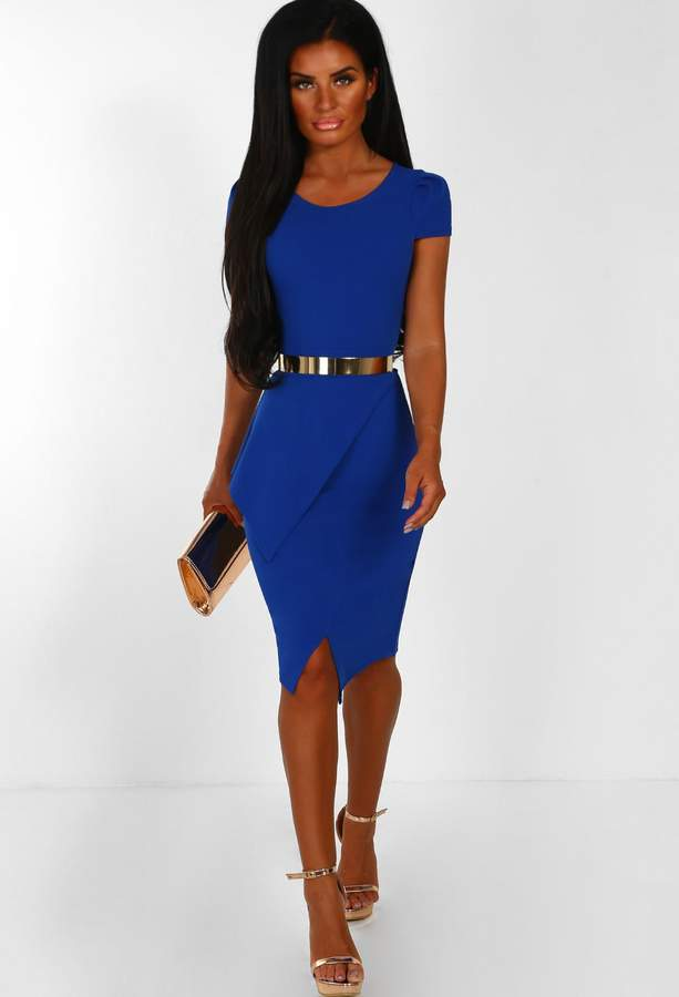 ff8437078a5 Cobalt Midi Dress - ShopStyle UK