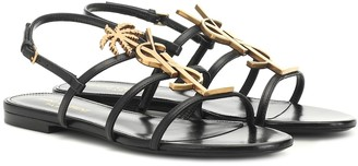 Saint Laurent Cassandra 05 leather sandals