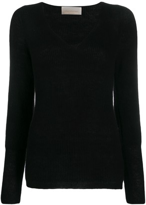 Chiara Bertani Ribbed Knit Jumper