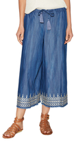 Plenty by Tracy Reese Embroidered Drawstring Culottes