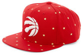 Mitchell & Ness Raptors Starry Night Glow-in-the-Dark Snapback