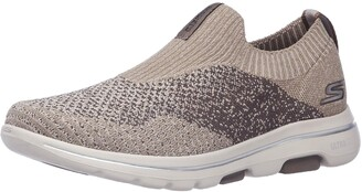 Skechers Men's Gowalk 5 Merrit-Stretch Fit Knit Slip on Performance Walking Shoe