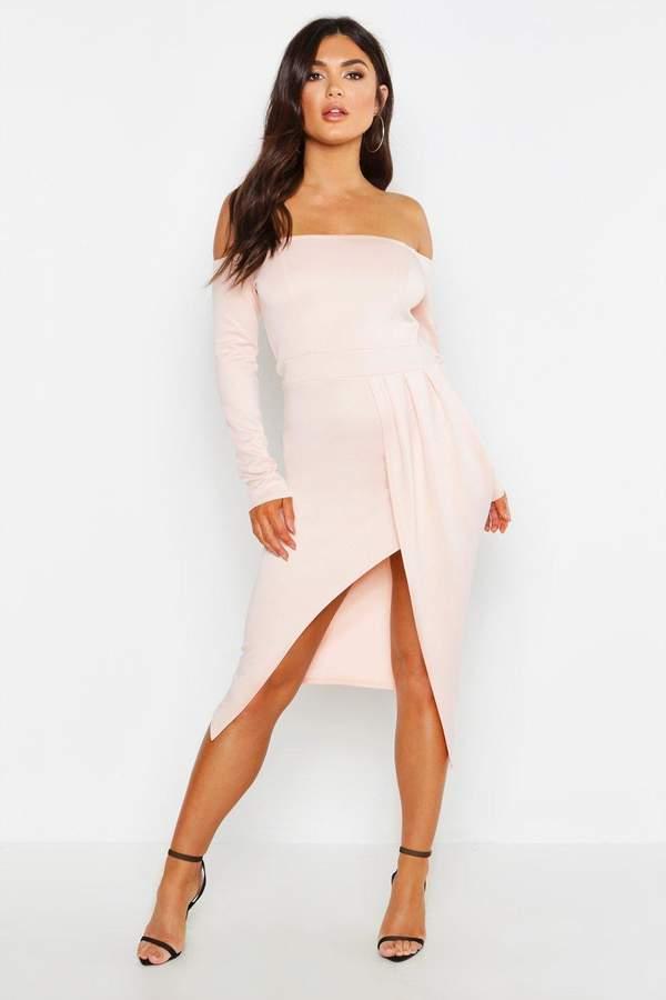 b01af8e246964 Nude Shoulder Dress - ShopStyle UK