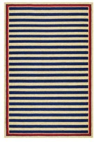 Couristan Nautical Stripes Indoor/outdoor Rug