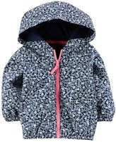 Carter's Baby Girl Floral Windbreaker
