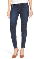 Hudson Women's 'Stark' Moto Skinny Jeans