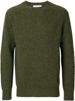 YMC Suedehead Brushed Crew sweater