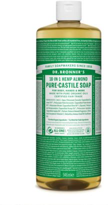 Dr. Bronner's Organic Almond Castile Liquid Soap 946Ml