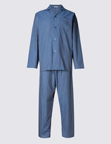 Marks And Spencer Easy Care Striped Pyjamas