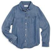 DL Premium Denim Girl's Patch Pocket Shirt